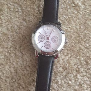 Coach Accessories - Last day! Leather Coach Watch